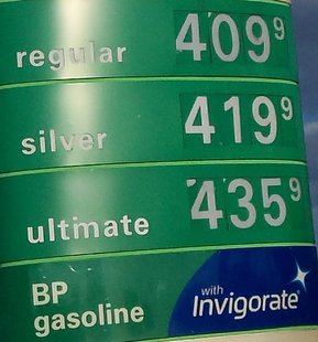 Here we are again, over $4 a gallon because of Isaac.