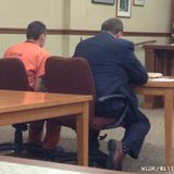 Brian Cooper appears in Door County court in Sturgeon Bay on Tuesday, September 11, 2012. (courtesy of FOX 11).