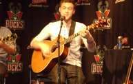 WIXX Winners Get a Backstage Phillip Phillips Performance at his Bradley Center Show 2