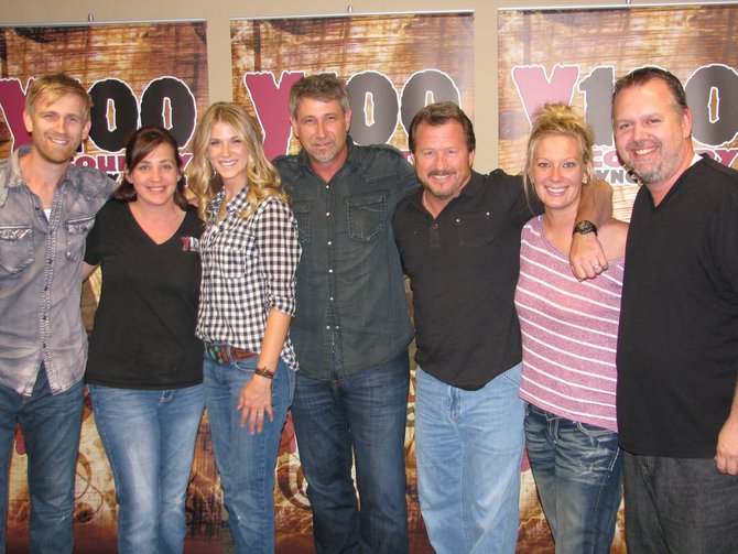 New Arista Nashville recording artists The Henningsen's visit Y100