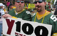 Y100 Tailgate Party at Brett Favre's Steakhouse :: Packers vs. Bears 11