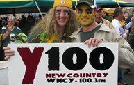 Y100 Tailgate Party at Brett Favre's Steakhouse :: Packers vs. Bears 6