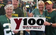 Y100 Tailgate Party at Brett Favre's Steakhouse :: Packers vs. Bears 5