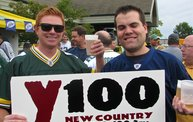 Y100 Tailgate Party at Brett Favre's Steakhouse :: Packers vs. Bears 4