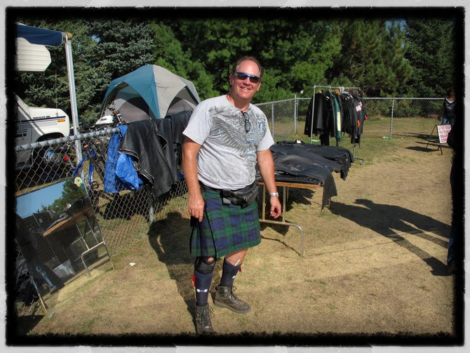 "This guy said ""wearing a kilt is like getting a cool breeze in the right place!"""