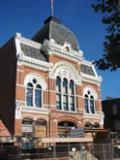 Tibbits Opera House facade restoration