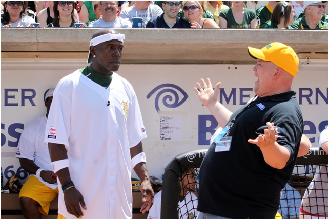 Donald Driver was not happy to see Otis