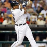 Miguel Cabrera hit his career-high 41st home run in the Tigers' 6-2 win over Oakland on Wednesday, September 19, 2012.