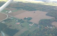 Aerial View of Zoromski Corn Maze in Ringle: Cover Image