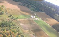 Aerial View of Zoromski Corn Maze in Ringle 18