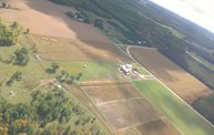 Aerial View of Zoromski Corn Maze in Ringle 17