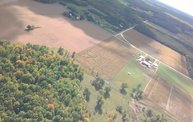 Aerial View of Zoromski Corn Maze in Ringle 15