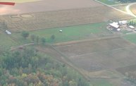 Aerial View of Zoromski Corn Maze in Ringle 8