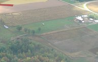 Aerial View of Zoromski Corn Maze in Ringle 7