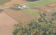 Aerial View of Zoromski Corn Maze in Ringle 1