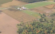 Aerial View of Zoromski Corn Maze in Ringle 6
