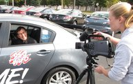 WIFC Car Giveaway TV Commercial shoot 5