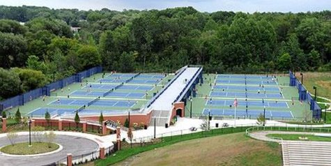 The VandePoel-Heeringa Stadium Courts (photo courtesy Hope College)