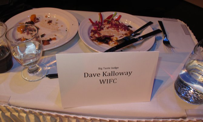 "Dave Kallaway got the honor to be a judge at this year's ""Big Chef Showdown!"""