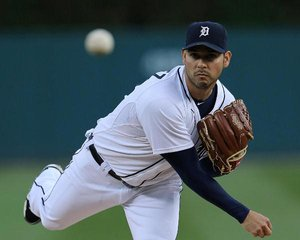 Detroit Tigers RHP Anibal Sanchez (photo courtesy Detroit Tigers)