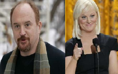 Louis C.K. and Amy Poehler