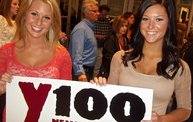 Carrie Underwood at the Resch Center With Y100 29