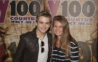 Y100 Listeners Meet Hunter Hayes 14