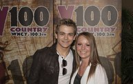 Y100 Listeners Meet Hunter Hayes 13