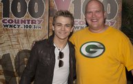 Y100 Listeners Meet Hunter Hayes 9