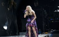 Carrie Underwood at the Resch Center With Y100 4