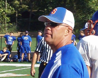 Saugatuck High AD/Football Coach Bill Dunn