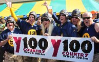Y100 Tailgate Party at Brett Favre's Steakhouse :: Packers vs. Saints 16