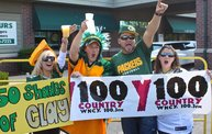 Y100 Tailgate Party at Brett Favre's Steakhouse :: Packers vs. Saints 13