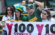 Y100 Tailgate Party at Brett Favre's Steakhouse :: Packers vs. Saints 11