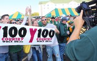 Y100 Tailgate Party at Brett Favre's Steakhouse :: Packers vs. Saints 10