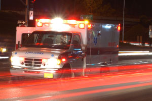 Greenbush woman hospitalized