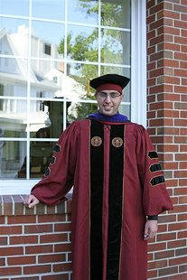 Jose Godinez-Samperio, 26, is shown in his Florida State University graduation gown in Tallahassee, Florida, in this May 2011 handout photo.