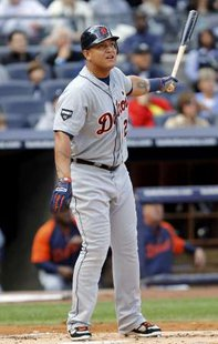 AL Triple Crown winner Miguel Cabrera