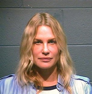 Actress and environmental activist Daryl Hannah is shown in this Wood County, Texas, Sheriff's Office photograph on October 4, 2012. Hannah
