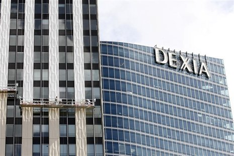 General view of Belgian-French financial services group Dexia building in the business district of La Defense, near Paris, August 7, 2012. R