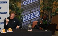 1 on 1 With The Boys :: 10/4/12 :: AJ Hawk 1