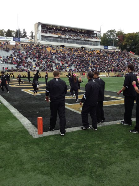 WMU Football vs. UMass 10/6/12