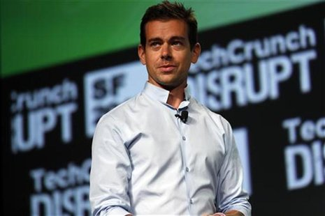 Jack Dorsey, founder of Square and Twitter, speaks on stage during day one of TechCrunch Disrupt SF 2012 event at the San Francisco Design C