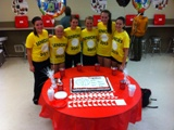 Coldwater Volleyball Senior Night-2012