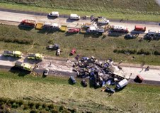 Crash scene Friday, Oct. 11, 2002