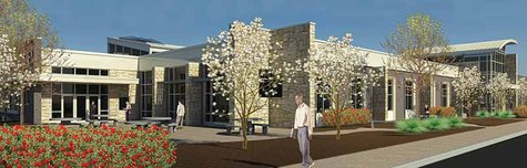 Artists rendering of Stevens Point Mid State Technical College building when it opens in 2014.