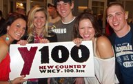 Y100 Presented Eric Church @ The Resch Center on 10/11/12 10