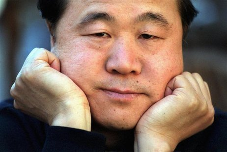 Chinese writer Mo Yan, in Stockholm, Sweden in this May 2001 file photo. REUTERS/Peter Lyden/Scanpix