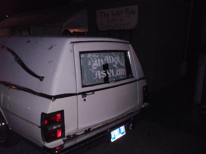 NOT the Casket Ride...but this hearse is really cool!