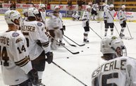 Western Michigan Broncos Hockey vs St Lawrence Saints Saturday night 12